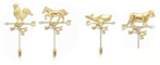 Country Vane Collection Diamonds Set in 14Kt Gold